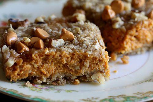 Pumpkin Pie Bars by joy the baker, via Flickr