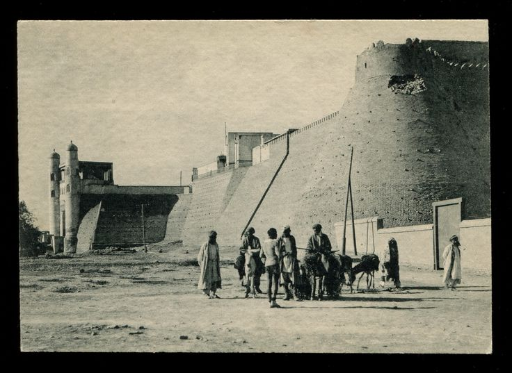 Old Bukhara Uzbekistan -fortress . Бухара Узбекистан - крепость.20$.