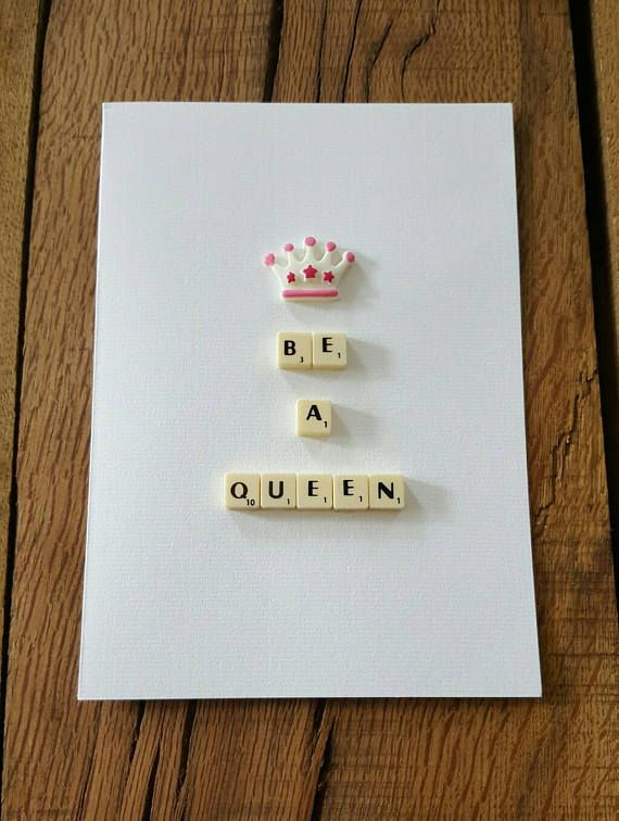 Mothers day card birthday card personalised card Thank you