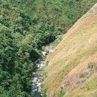 Río Sombrerillos en cercanías a Pitalito.