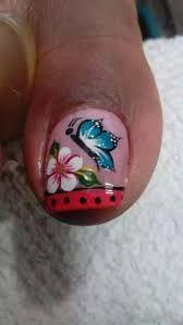 Resultado de imagen para decoracion de uñas 2015 para pies