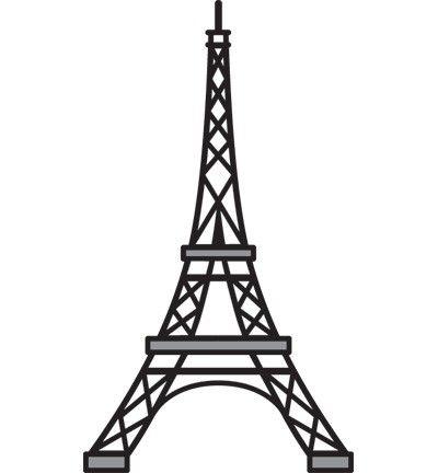 Craftables Marianne Design - Eiffeltoren