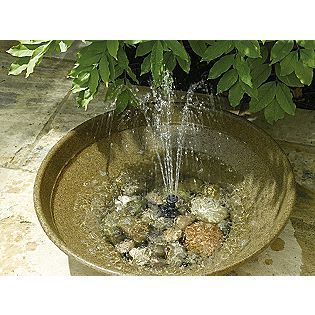 SunJet 150 Solar Powered Fountain Pump- Smart Solar- Solar pump for fountains in the garden!!!