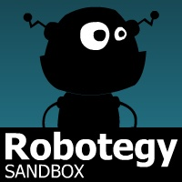 Play Rototegy for free - Source: http://www.literaturasyl.de/spiele/robotegy-sandbox/