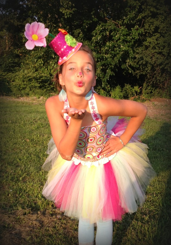 Couture Clown Costume  Perfect for Halloween by WaterBabyBoutique, $85.00