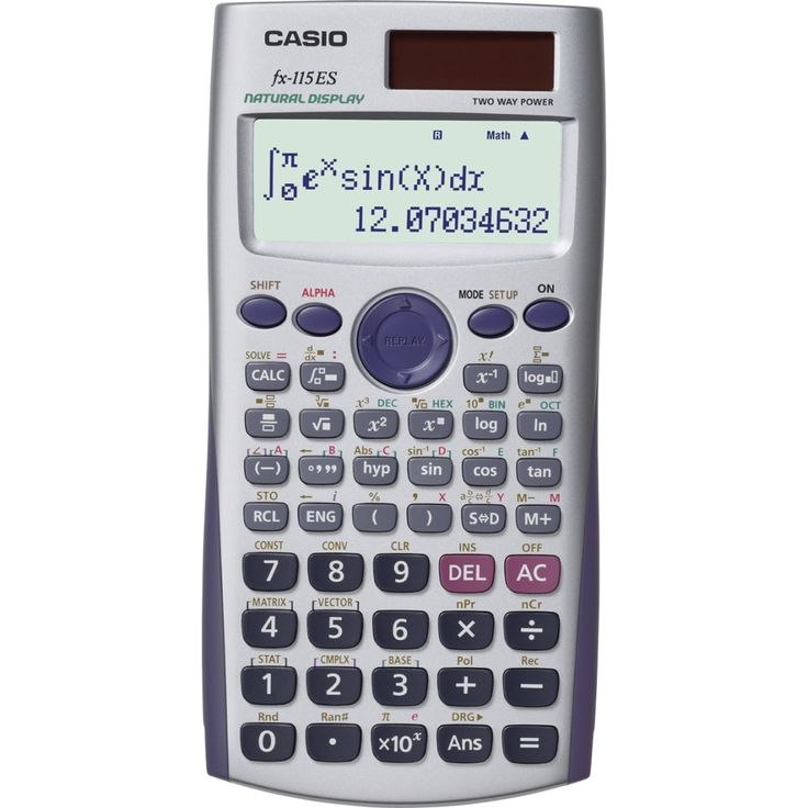 Casio FxEs Scientific Calculator By Casio  Calculator Outlet