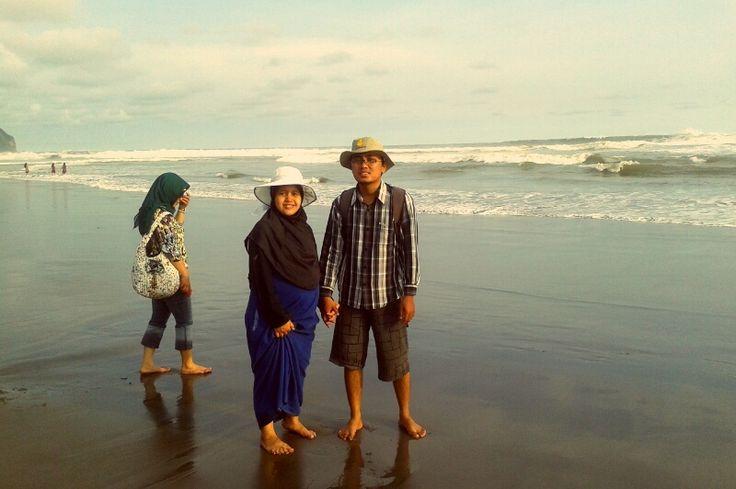 Menikmati Senja di Pantai Parangtritis Yogyakarta