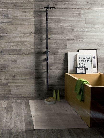 Floor Tiles With Wood Effect LARIX By Ariana Gray Porcelain Tile