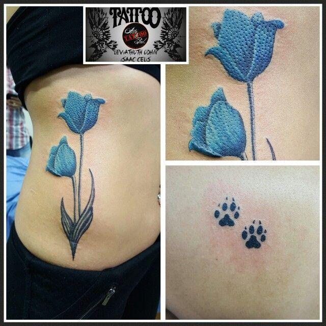 #tulipan #azul #tattooarteypiel #tatuajes #artisticos #aguascalientes #mexico #leviathoth #odhin #isaaccelis #tattooist #tattooart #tattooink #tattoo #neekdnaPROTEC