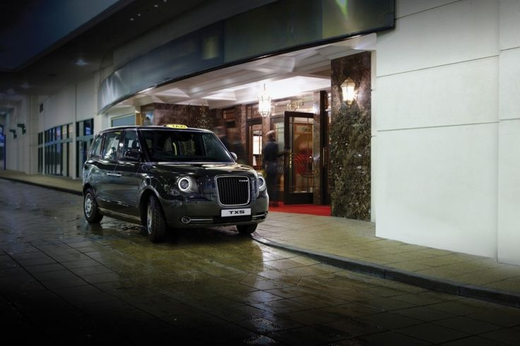 The London Taxi Company has unveiled a new version of the Black Cab that famously operates in London, UK. The TX5 is said to retain the spirit of past models and focus on driver and passenger comfort. Reflecting the move toward a low-carbon economy, it will be electric powered.