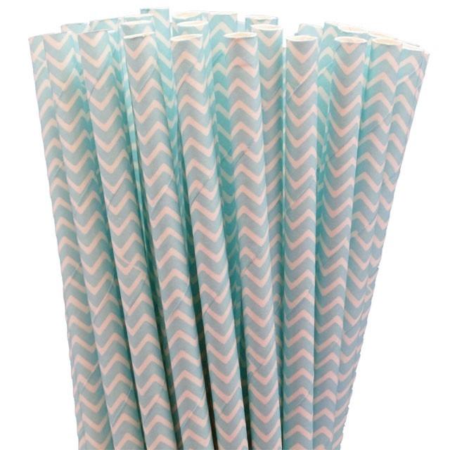 Greenmunch - Paper Straws - Baby Blue Chevron, $4.50 (http://www.greenmunch.ca/paper-straws/standard-length/chevron/paper-straws-baby-blue-chevron/)