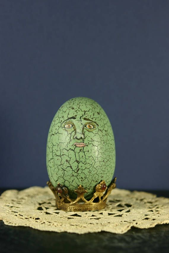 Humpty Dumpty Back Together Again Original Painted Egg with