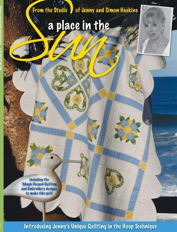 Make your own - all the quilting is done in a hoop. Yippee!!