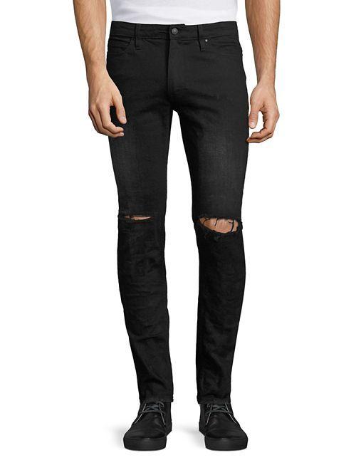 OS1 Distressed Denim Pants