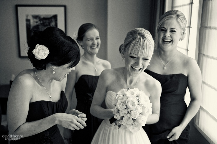 We love seeing friends enjoying each others company - especially on a wedding day
