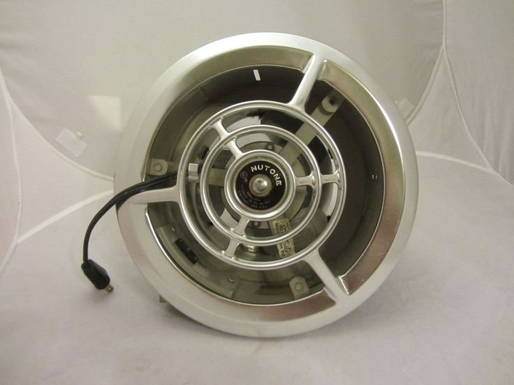 Nutone Kitchen Exhaust Fans Island With Sink And Dishwasher Rare Vintage Mid-century Metal 8210 Fan ...