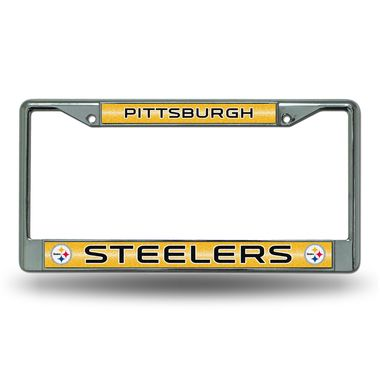 Official NFL Pittsburgh Steelers License Plate Frame 836177