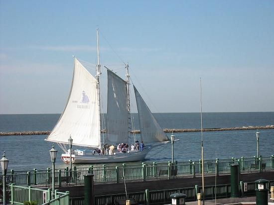 Biloxi, MS -  The schooner ride is great!  relaxing and fun.  I even got take the wheel for a little while. October 6, 2013