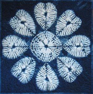 171 Best Shibori Detail Images On Pinterest Shibori Tie