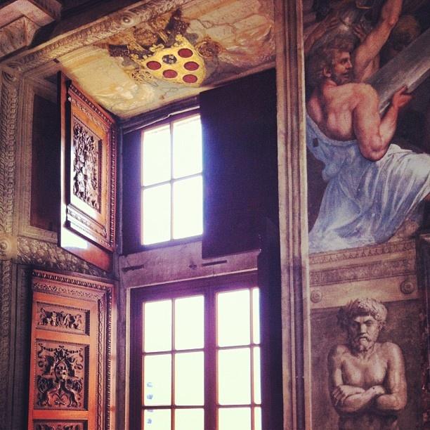 The Raphael room - Cesare Borgia's bedroom