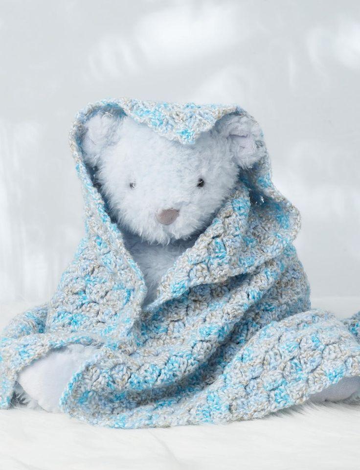 Quick Corner to Corner Crochet Baby Blanket | AllFreeCrochetAfghanPatterns.com