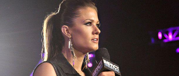 Brooke Tessmacher Says She Wants a Shot at Havok