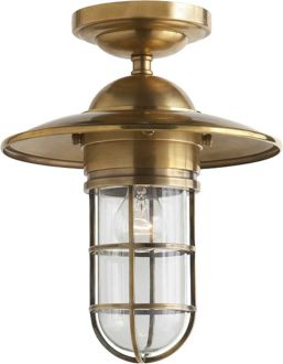 25 best handmade outdoor lights images on pinterest exterior visual comfort studio marine sandy chapman medium marine flush mount in chrome brass with clear glass find this pin and more on handmade outdoor lights workwithnaturefo