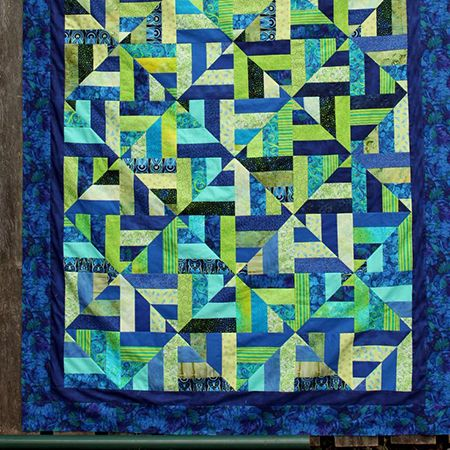 Jelly Roll Quilt                                                                                                                                                      More