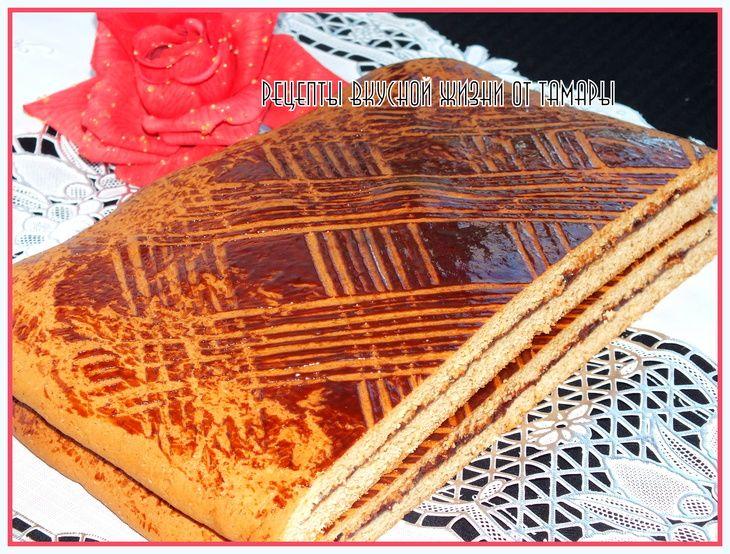 Тульский пряник  пошаговый рецепт с фотографиями