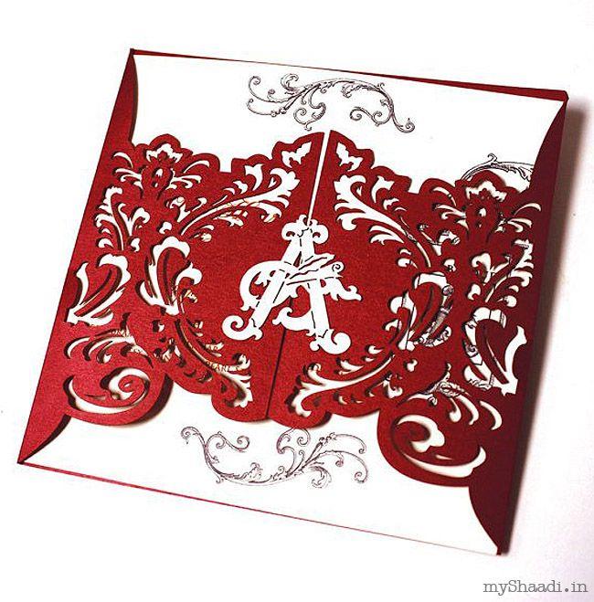 Indian Wedding Invitations  Myshaadi.in#India#Wedding Card#Marriage Invitation