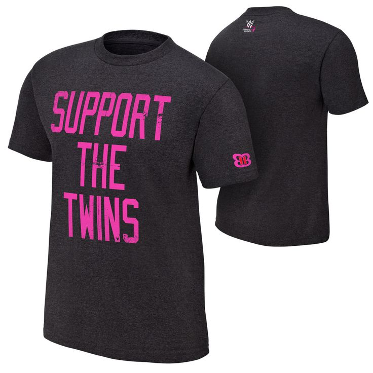 #WWE #CourageConquerCure Bella Twins T-Shirt