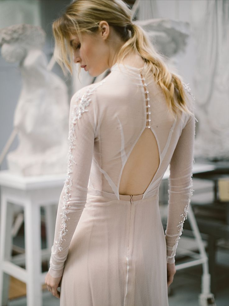 30+ Wedding dress with collar and sleeves ideas