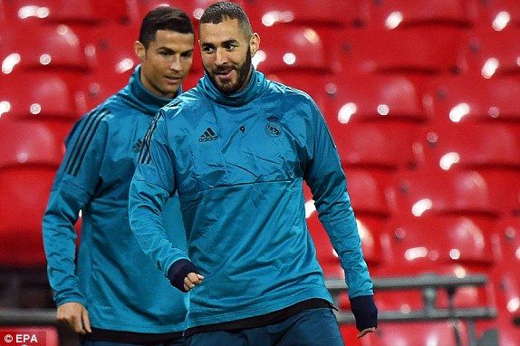 Tottenham vs Real Madrid Champions League, RESULT | Daily Mail Online