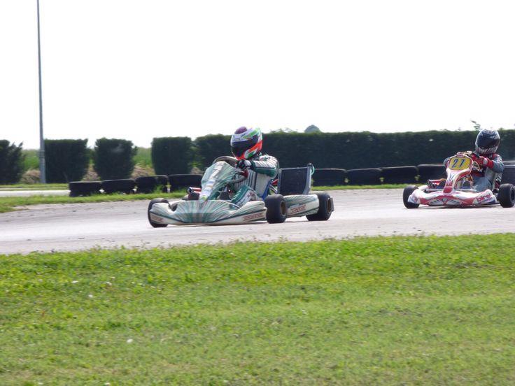 Tony Kart motore Kz10b Prove libere a migliarino