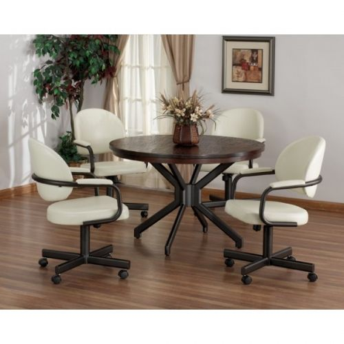 For a traditional and classy look  choose the Tempo Dayton Swivel Tilt  Caster Dinette Set10 best Swivel Tilt Caster Dining Sets images on Pinterest  . Powell Hamilton Swivel Tilt Dining Chair On Casters. Home Design Ideas