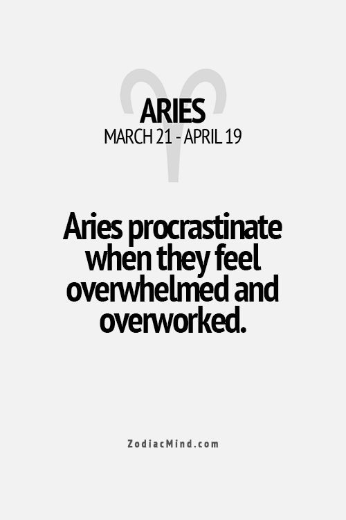 This does describe what I do but the Aries bit has nowt to do with it