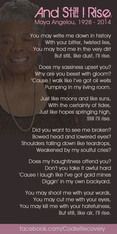 maya angelou s african american dream Dr maya angelou was a renowned poet and storyteller who wrote for children and young adults as well as for adults here you'll find a selection of her poetry and writing for young people.