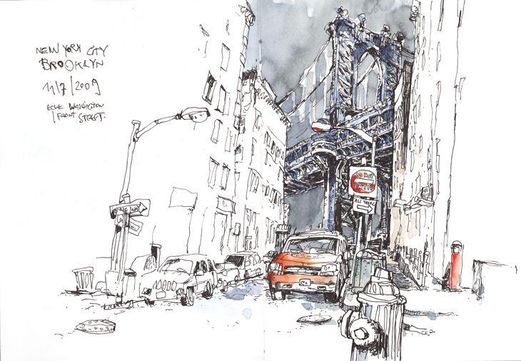 Felix Scheinberger, Illustrator - Skizzen: 2009