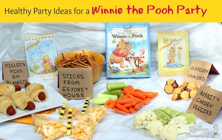 If you are a huge fan of Disney's Winnie the Pooh and Friends, you will want to try these healthy party ideas for a Winnie the Pooh party everyone will love.