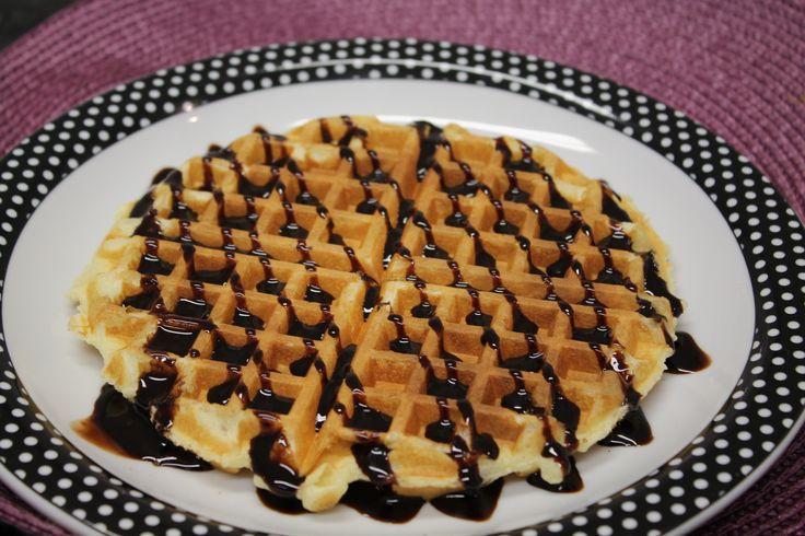 Receita de Waffle para a criançada. Enviada por Elaini Yano e demora apenas 20 minutos.