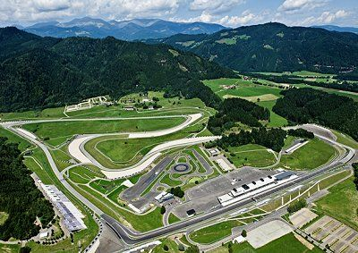 22/06/2014 - Spielberg, Austria. The Austrian Grand Prix will make a return to the Formula One line up this year, following a 10 year hiatus. It has been rebuilt the Red Bull, and renamed the Red Bull Ring accordingly. Set in beautiful surroundings, the tracks lack of infrastructure had counted against it in the past, but it has now been modernised and there are many who are excited for it's return.