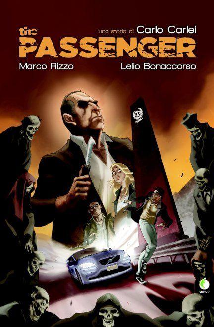 """""""The Passenger"""", la graphic novel di Carlo Carlei, regista de """"I bastardi di Pizzofalcone"""""""