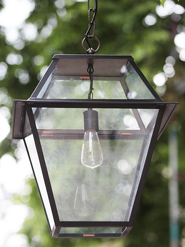 Historical handmade pendant lantern pont neuf tgm by for Deckenlampe flur