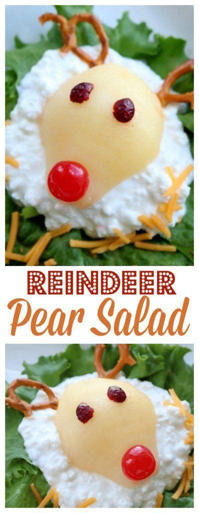 Reindeer Pear Salad