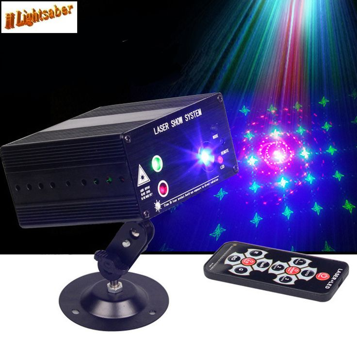 3 Holes 48 Figures Laser Stage Light + LED RGB 12V Stroboscopic Laser Light Red Green Blue AC110-240V 9W DJ KTV Disco Lighting