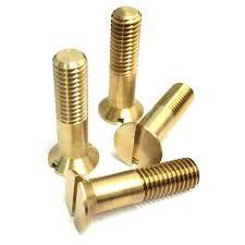 Brass Countersunk Bolts | Brass Bolts