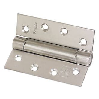Eclipse Adjustable Self-Closing Hinges Satin Steel construction. Satin stainless steel finish. http://www.MightGet.com/january-2017-13/eclipse-adjustable-self-closing-hinges-satin.asp