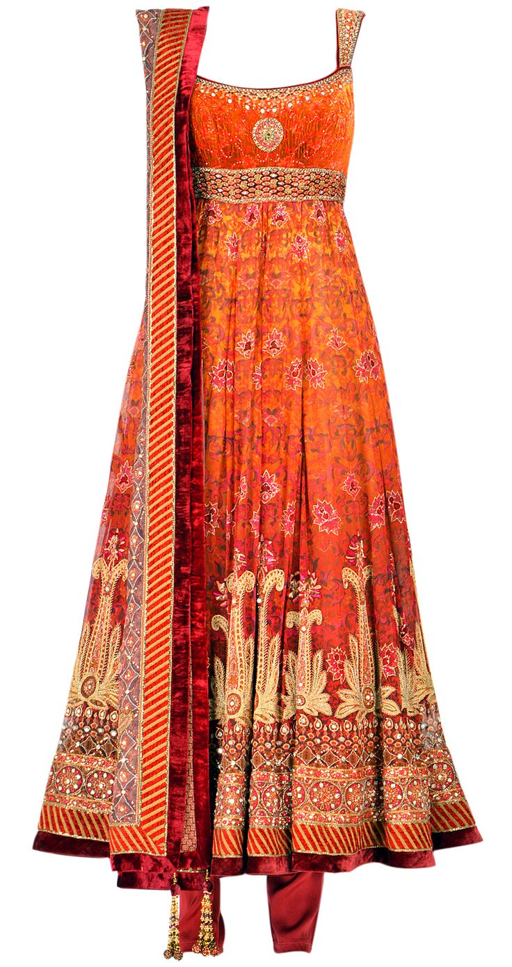 TARUN TAHILIANI-like the empire waist and sholder straps.