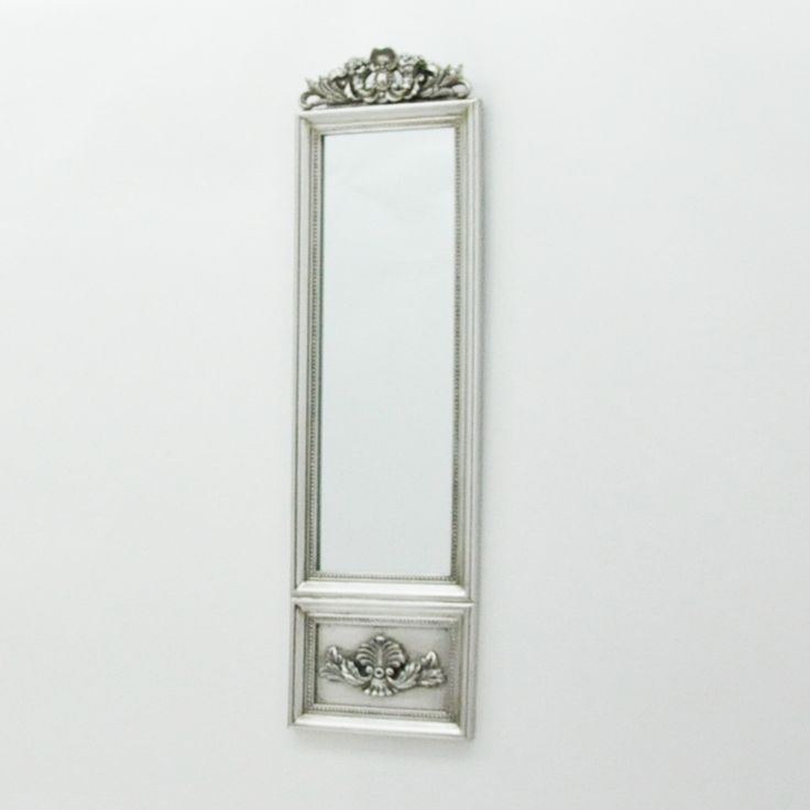 French Style Silver Wall Mirror