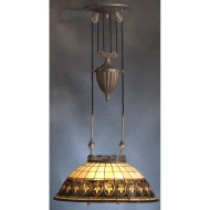 Kichler Lighting 65170 - Provencia Tiffany Victorian Pendant Light KCH-65170